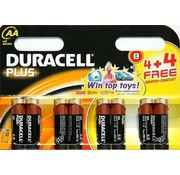 Duracell Plus AA 4 + 4 Pack Single-use battery