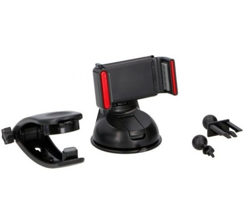Dunlop Dunlop Smartphone-Halter mit Saugnapf Universal-55-86 mm schwarz