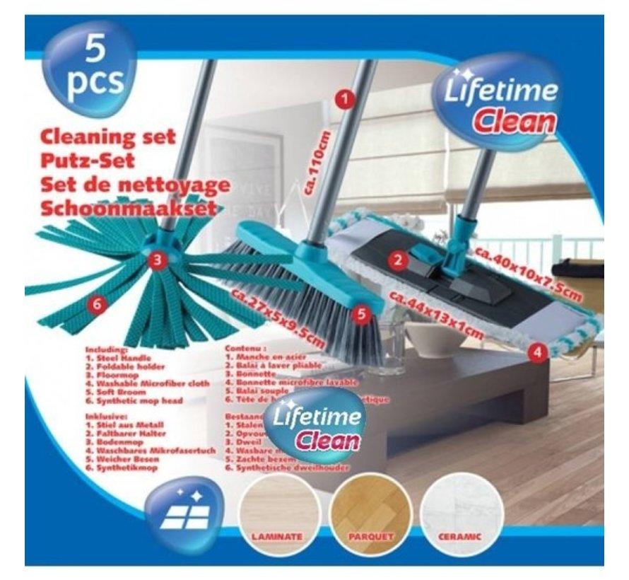 Reinigungstücher 5, 3 Designs