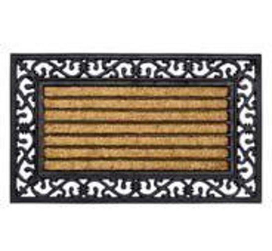 Fußmatte Hamat Pinsel Rechteck 45 x 75 cm