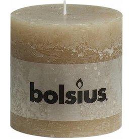 Bolsius Stompkaars Stompkaars 100/100 rustiek Pastelbeige