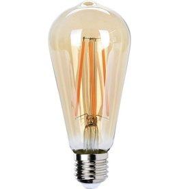 Led Lamp 4W E27 ST64 Amber Dimbaar300lm