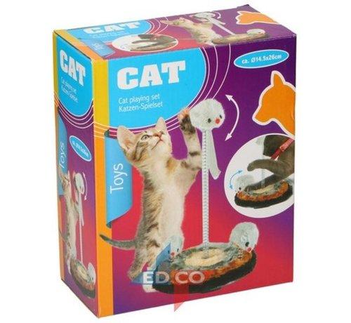 Katzen Spielset D14,5 x 26 cm