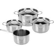 Excellent Houseware Stainless Steel Pan 7 Piece