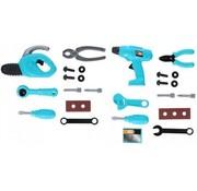 Eddy Toys Toolbox Blau 12-Delig 32 cm