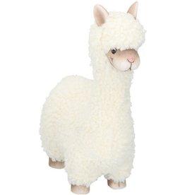 Alpaca beeldje   Wol  Polyresin  Decoratie   Dieren beeldje   Beeld