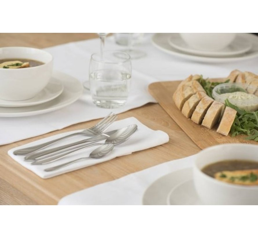 Alpina - 16-Piece High gloss Cutlery (Rvs)