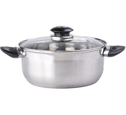 Kookpan met Deksel 16 x 7,5 cm 16 cm 1.4 liter