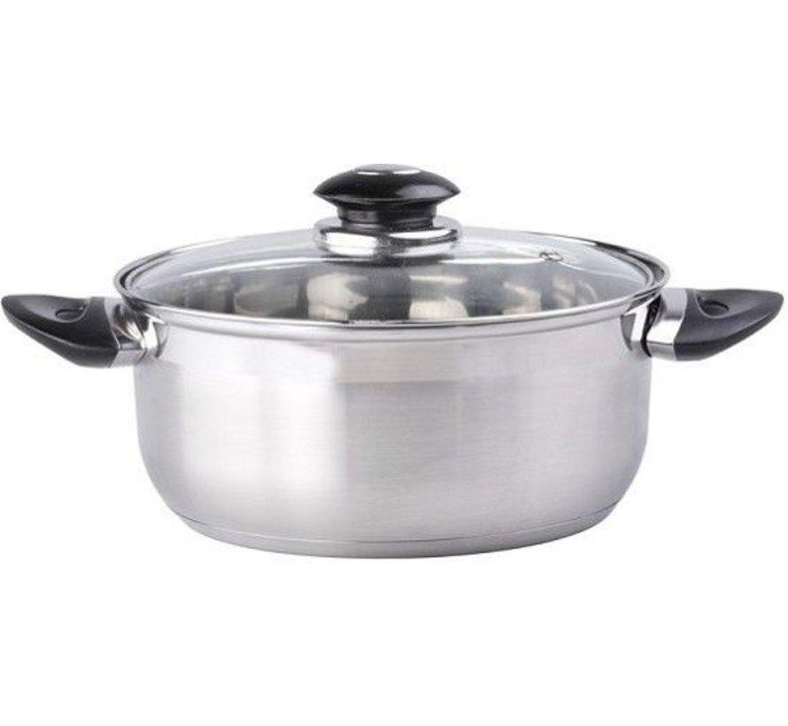 Kochgerät mit Deckel 16 x 7,5 cm 16 cm 1,4-Liter