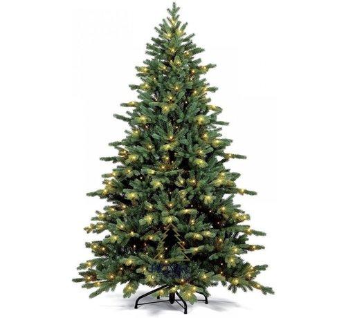Royal Christmas Artificial Christmas Tree Spitsbergen 210 cm LED + Smart Adapter | Royal Christmas®