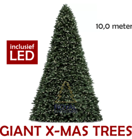 Royal Christmas Grote Kunstkerstboom Giant Tree 10 meter | inclusief LED