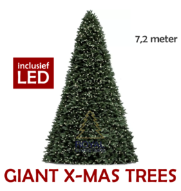 Royal Christmas Grote Kunstkerstboom Giant Tree 720 cm | inclusief LED