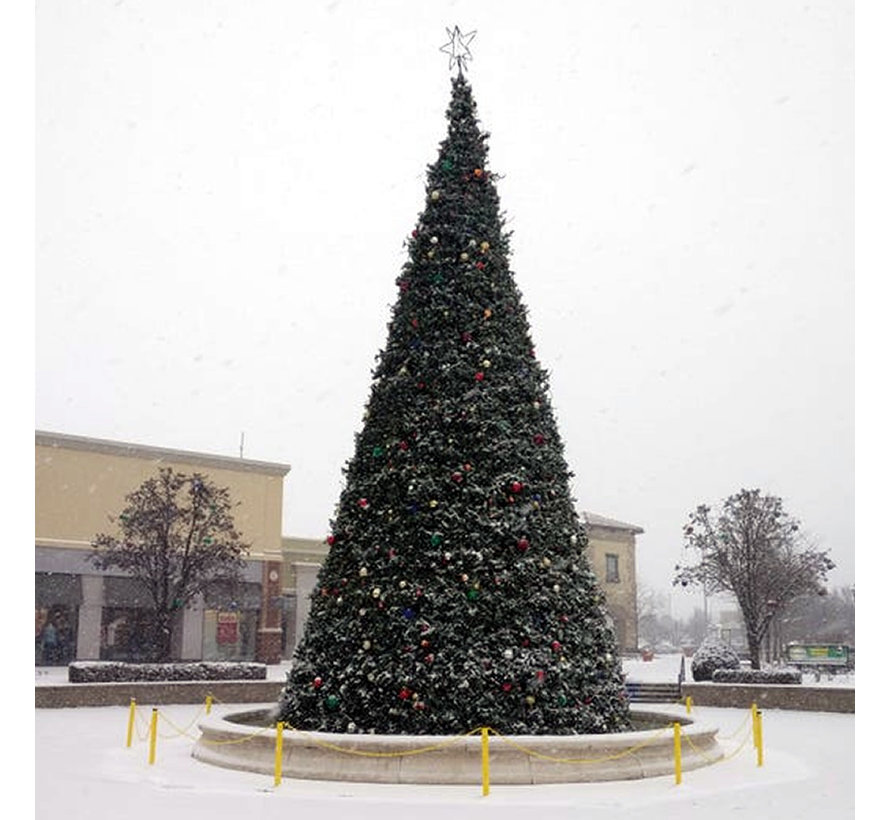 Grote Kunstkerstboom Giant Tree 650 cm | Inclusief Led