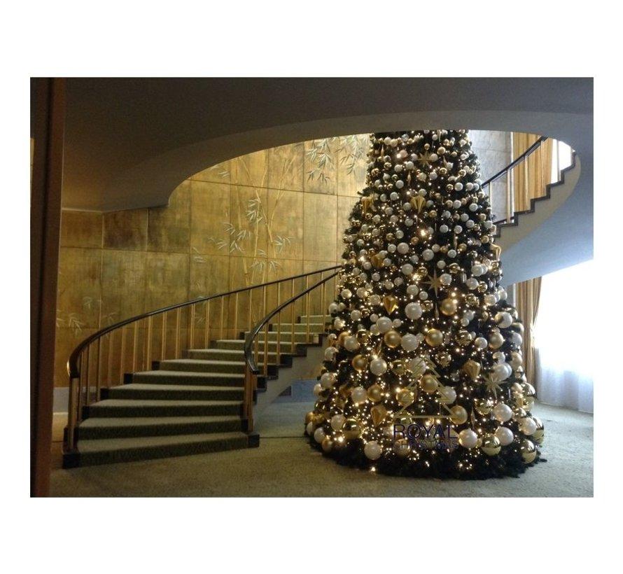 Große künstliche Weihnachtsbaum Riesenbaum 580 cm | einschließlich LED