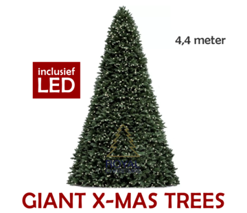 Royal Christmas Grote Kunstkerstboom Giant Tree 440 cm | Inclusief Led