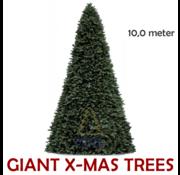 Royal Christmas Große künstliche Weihnachtsbaum Riesenbaum | Höhe 10 Meter