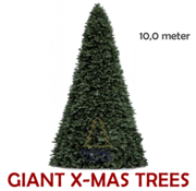 Royal Christmas Large Artificial Christmas Tree Giant Tree | Height 10 Meter