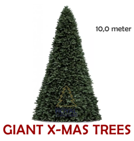 Royal Christmas Grote Kunstkerstboom Giant Tree | Hoogte 10 meter