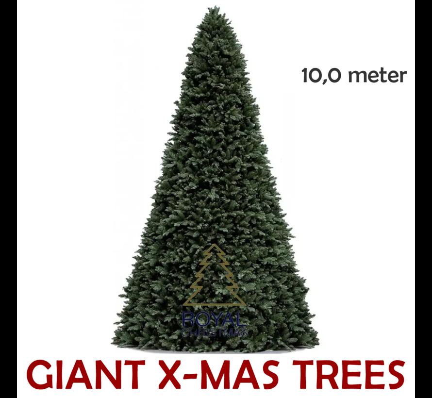 Grote Kunstkerstboom Giant Tree | Hoogte 10 Meter