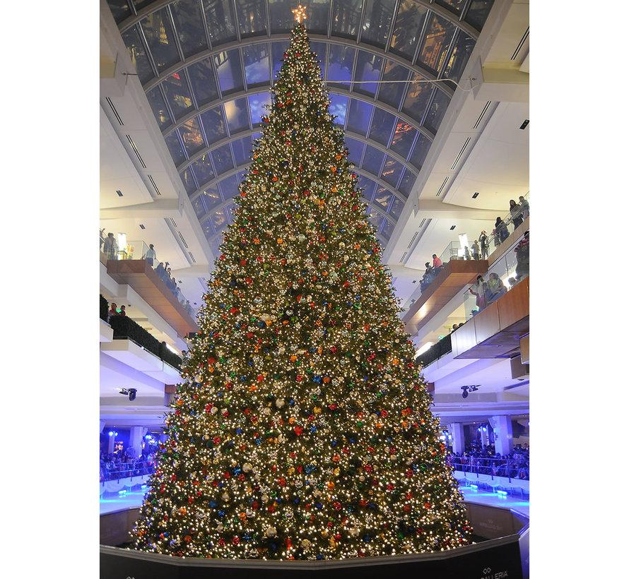 Große künstliche Weihnachtsbaum Riesenbaum   Höhe 8.6 Meter