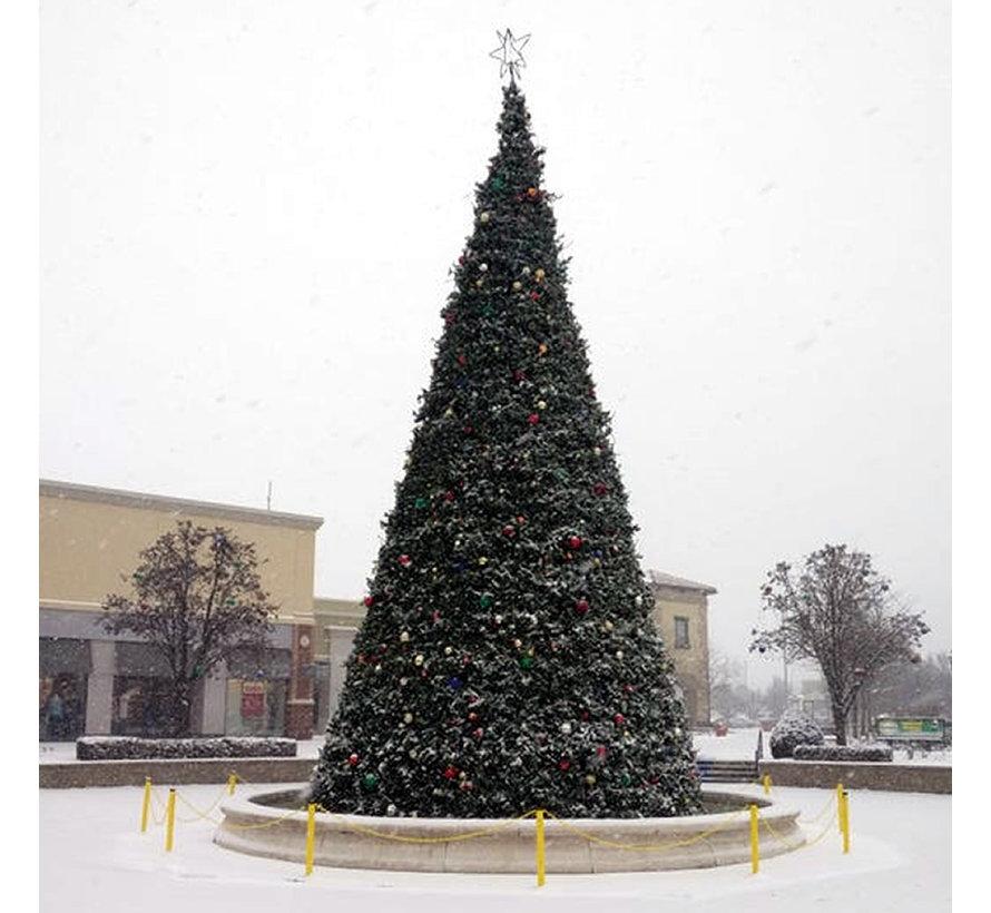 Große künstliche Weihnachtsbaum Riesenbaum | Höhe 7,9 Meter