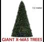 Grote Kunstkerstboom Giant Tree | Hoogte 7,2 Meter