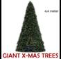 Grote Kunstkerstboom Giant Tree | Hoogte 4,4 Meter