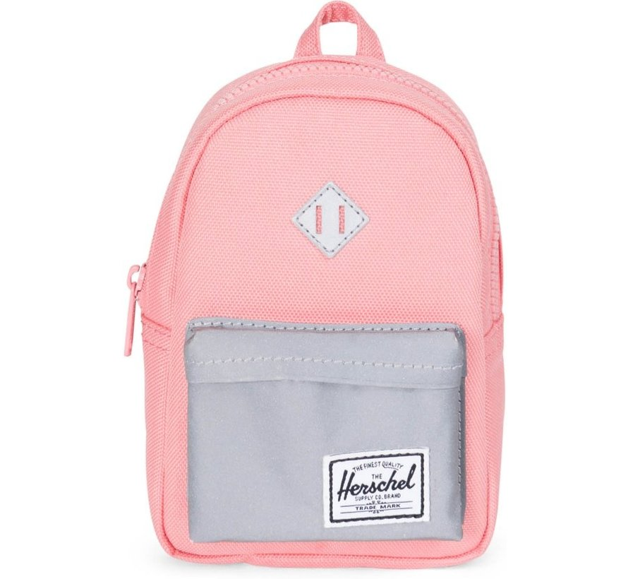 Herschel Supply Co. Heritage Mini - Etui - Strawberry Ice / Reflective Rubber
