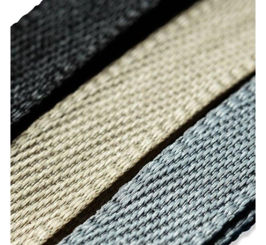 Flauschband Beige, Grau, Schwarz