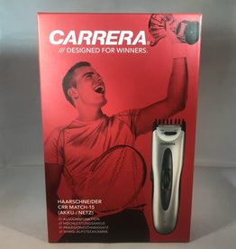 Carrera Tondeuse - CRR Match- 15 - Accu - Zilver