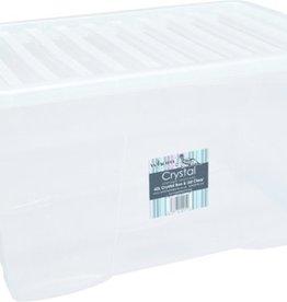 Opbergbox - Transparant - 60 Liter - 60x40x33cm