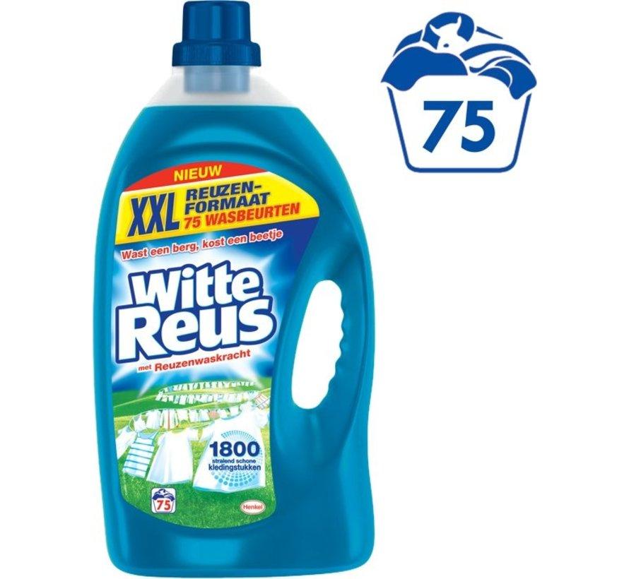 Witte Reus Gel Wasmiddel - 75 Wasbeurten - Kwartaalverpakking