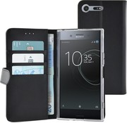 Azuri walletcase magnetic closure & cardslots - black - Sony Xperia XZ Premium