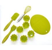 Bakeware Set - Silikon - Grün