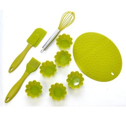 Bakeware Set - Silicone - Green