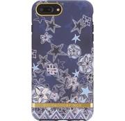 Richmond & Finch Super Star-Fall-Goldkasten Iphone 6 Plus 6S Plus 7 Plus 8 Plus - Blau