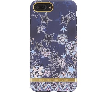 Richmond & Finch Super Star Hoesje Goud Case Iphone 6 Plus 6S Plus 7 Plus 8 Plus - Blauw