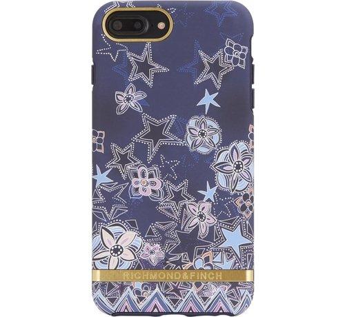 Richmond & Finch Super Star Case Gold Case Iphone 6 Plus 6S Plus 7 Plus 8 Plus - Blue