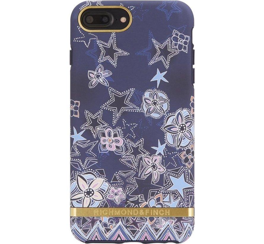Richmond & Finch Super Star Hoesje Goud Case Iphone 6 Plus 6S Plus 7 Plus 8 Plus - Blauw