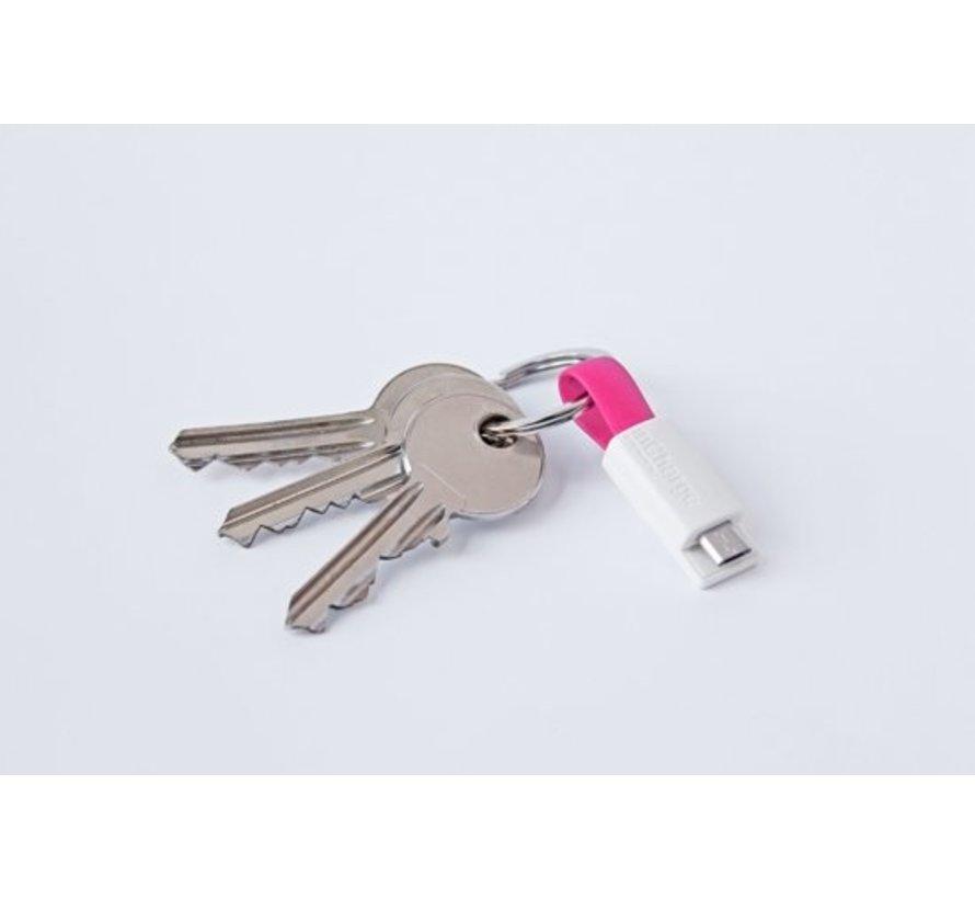 Incharge Mini Micro-Usb Kabel - Roze