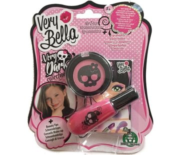 Very Bella Very Dark Oogschaduw & Lipgloss - Roze