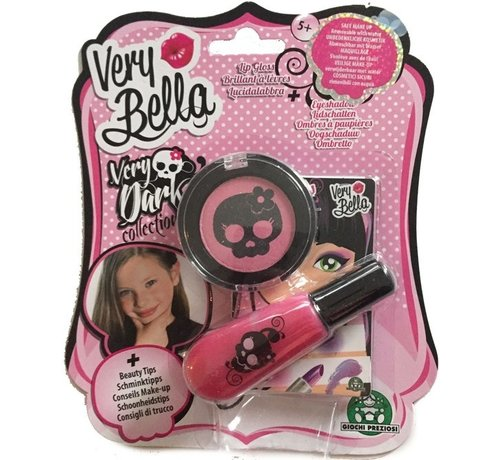 Very Bella Very Dark Eyeshadow & Lipgloss - Pink