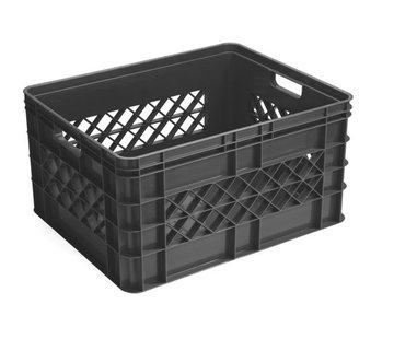 Sunware Square Multi Crate 52L - met Dichte Zijkanten - Antraciet