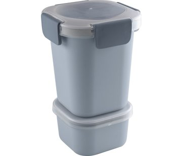 Sunware Sunware Sigma Home - Food To Go Lunch Cup - Incl. Apart Mini-Bowl - Blue