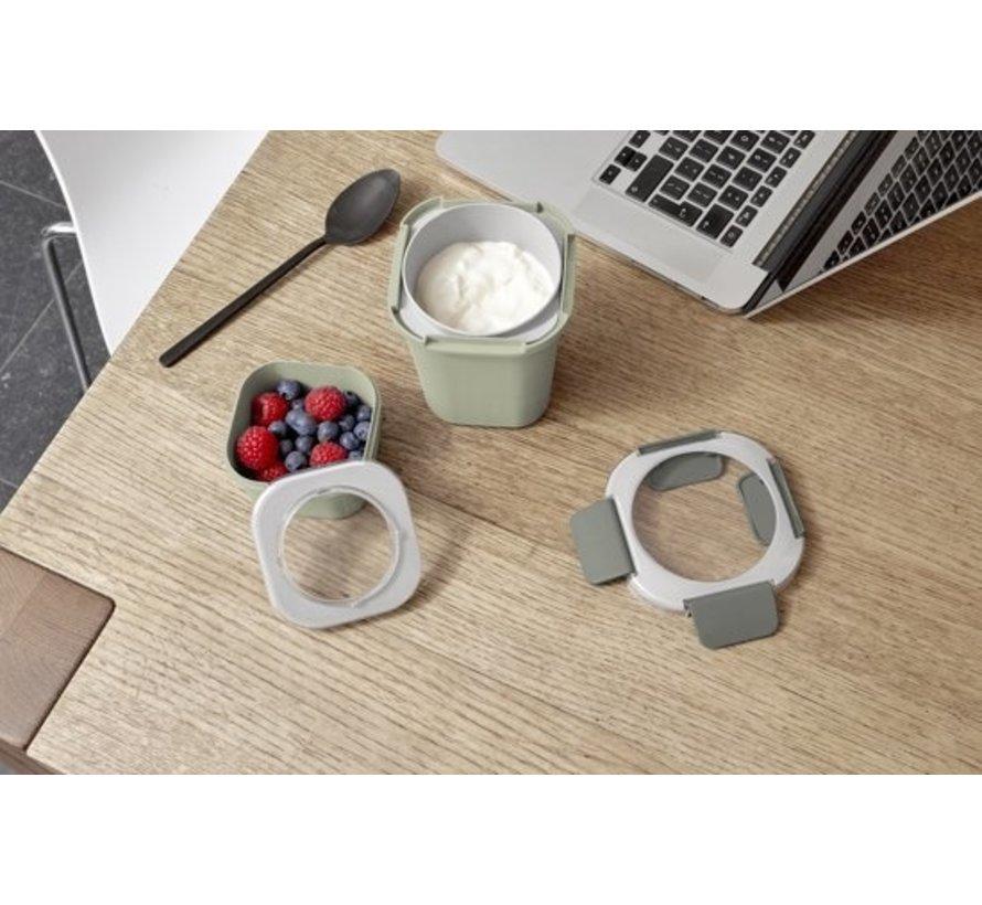 Sunware Sigma Home - Food To Go Lunchbeker - Incl. Apart Mini-Bakje - Groen