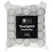 Tea lights - White - 100 Pieces