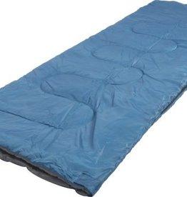 Dunlop Slaapzak voor volwassenen - Blauw - Opbergtas - 190x75