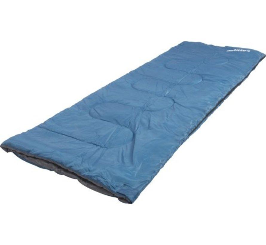 Dunlop Slaapzak voor Volwassenen - Blauw - Opbergtas - 190 x 75