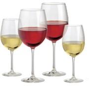 4 Stuks Wijnglas Rood