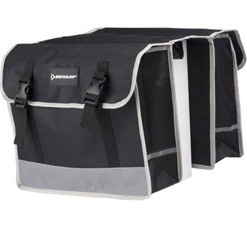 Dunlop Dunlop Dubbele Fietstas - Zwart - 26 Liter